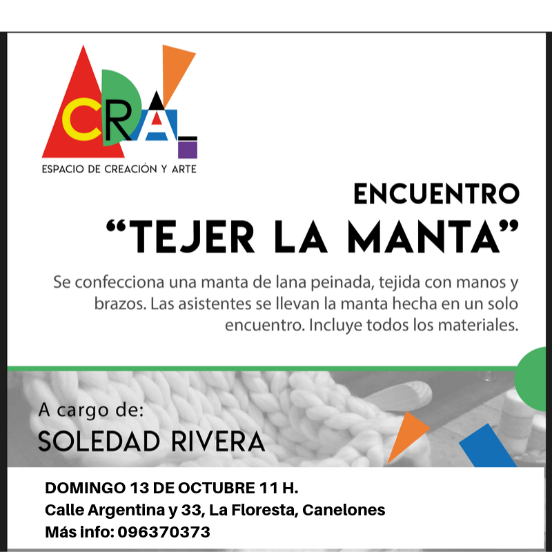 TEJER LA MANTA